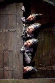 "The Tony Award-winning musical ""Spamalot"" is on stage at Barbara B. Mann Performing Arts Hall through Feb. 10."