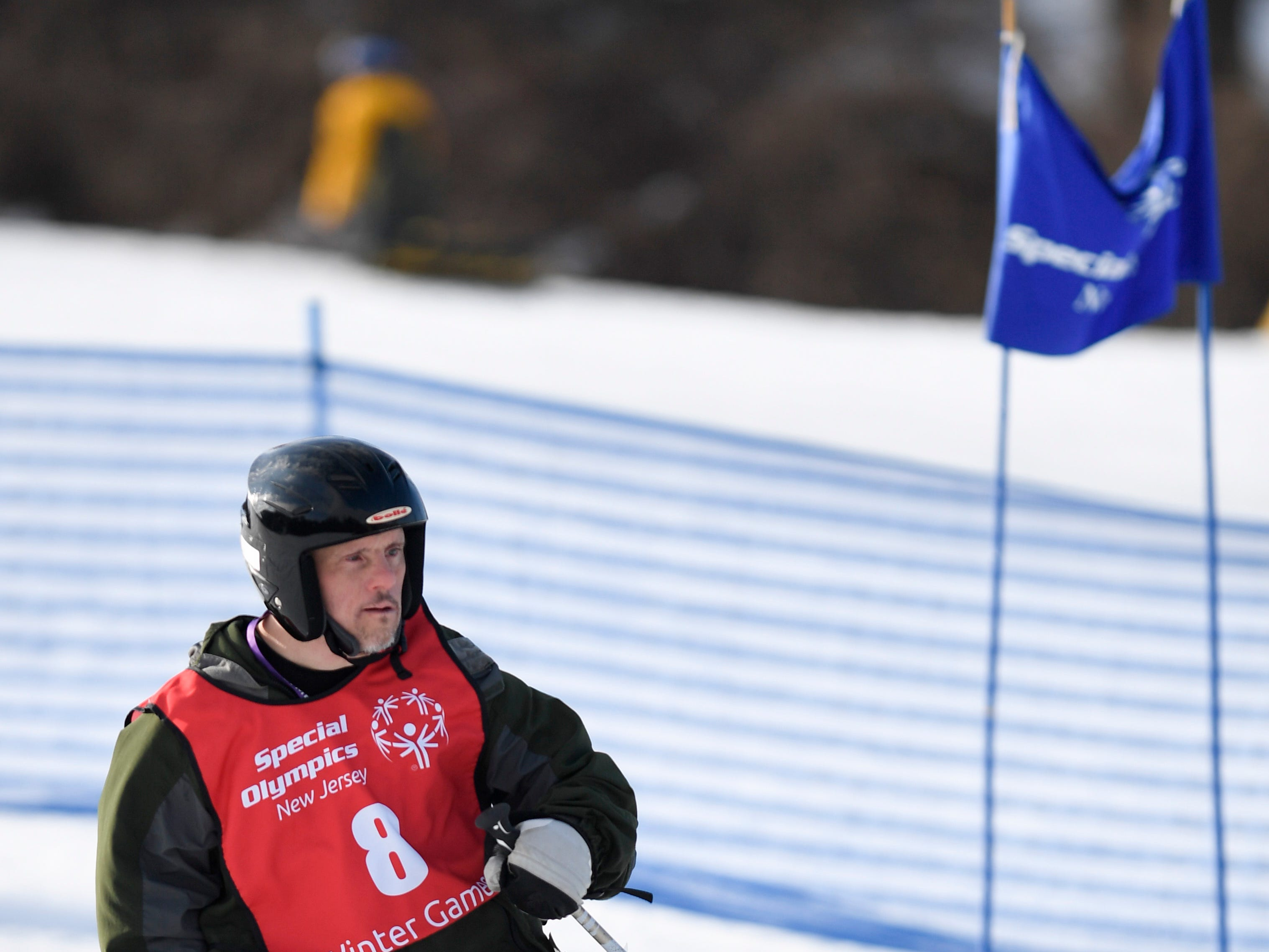 Michael Corbett of Allendale competes in the giant slalom during the Special Olympics New Jersey 2019 Winter Games on Tuesday, Feb. 5, 2019, in Vernon.