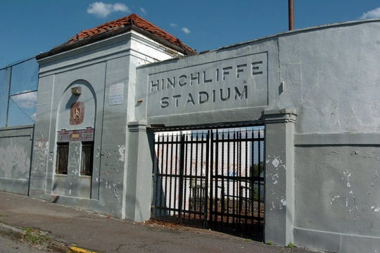 Hinchliffe Stadium entrance