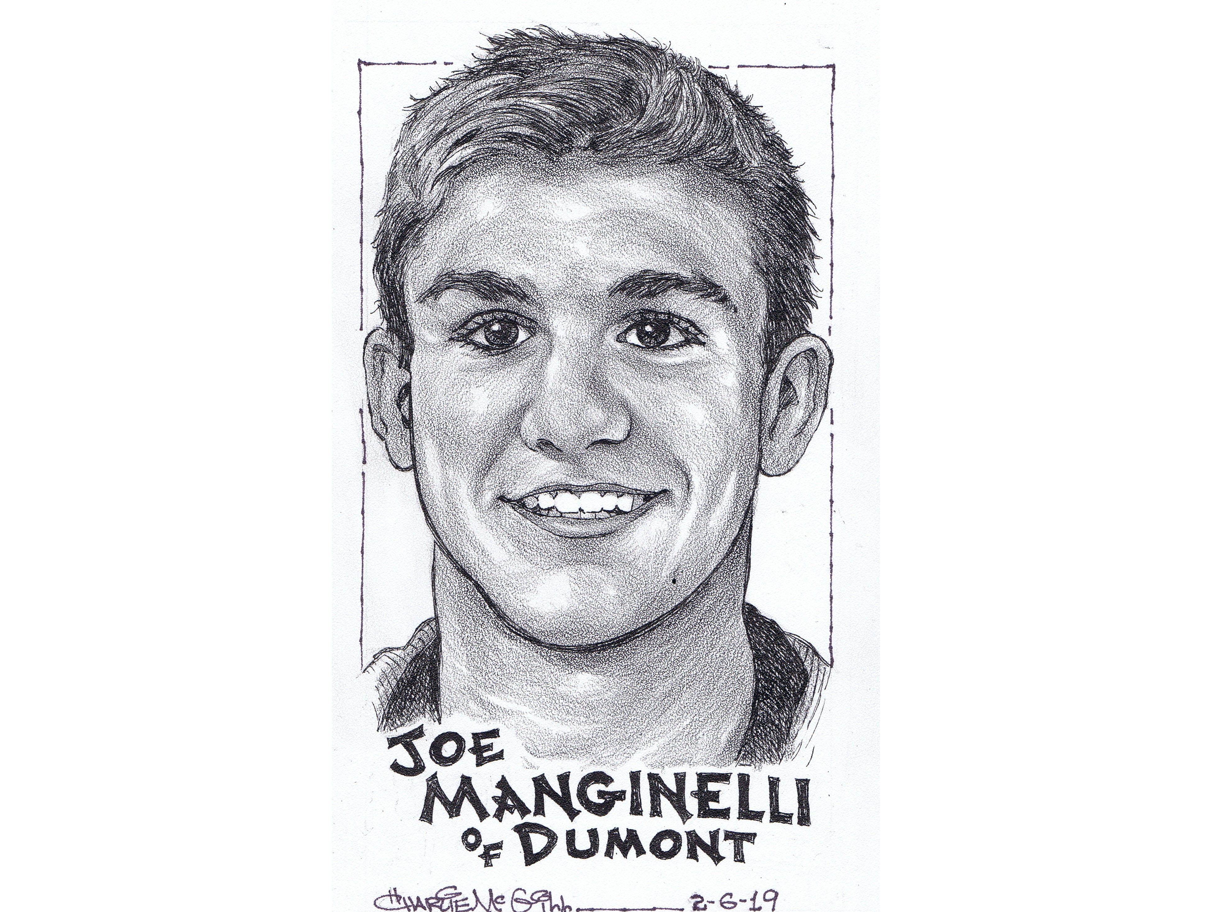 Joe Manginelli, Dumont wrestling