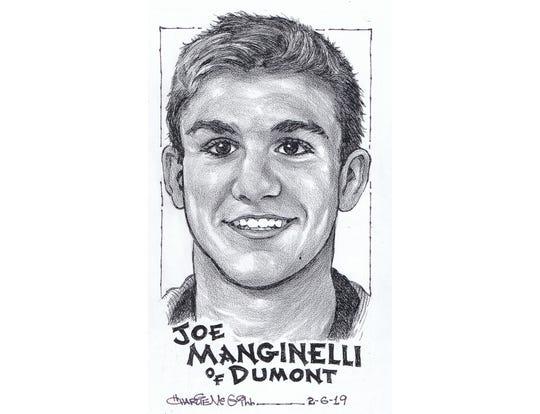 Joe Manginelli, Dumont wrestling