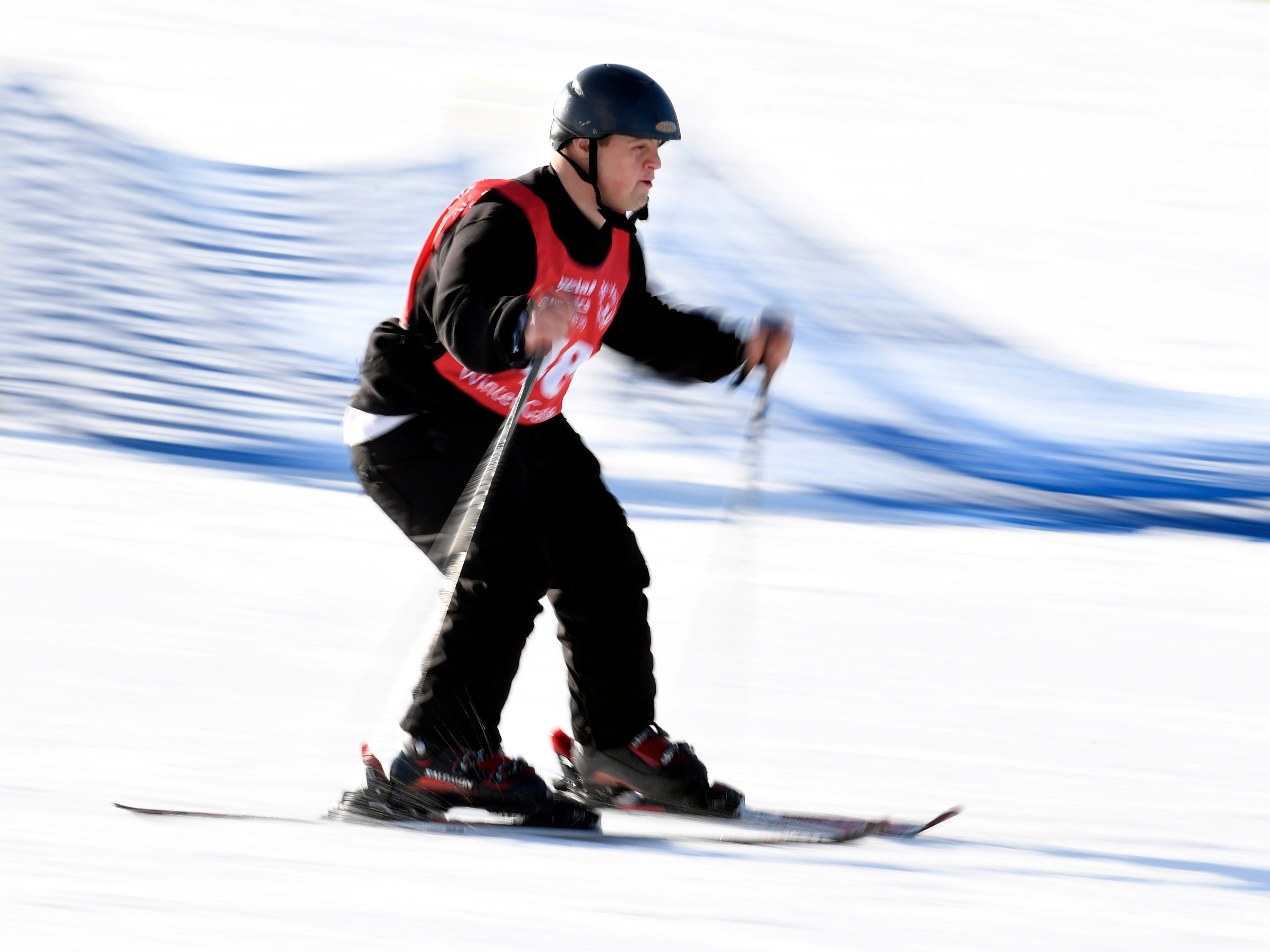 Todd Gensheimer of Budd Lake placed first in the giant slalom during the Special Olympics New Jersey 2019 Winter Games on Tuesday, Feb. 5, 2019, in Vernon.