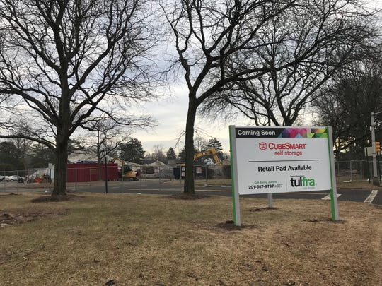 A 7.5-acre site at 120 W. Passaic Street is currently being redeveloped. Once finished, the site will feature a storage facility, a retail space and a residential building. Construction can be seen at the project on Tues., Feb. 5, 2019.