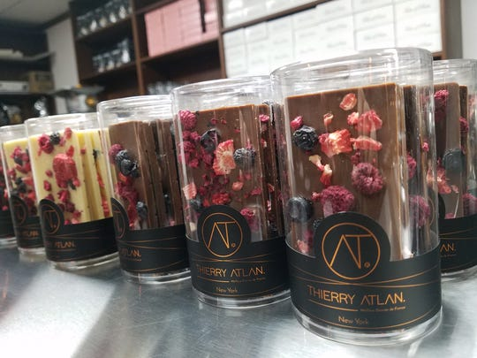 Thierry Atlan chocolates at Pierre & Michel