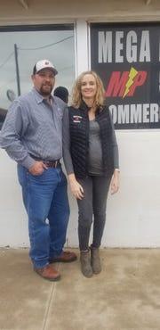 Shane and Meagan Carpenter of MEGA Power Electric, LLC.