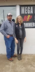 Shane and Meagan Carpenter of MEGA Power Electric, LLC.