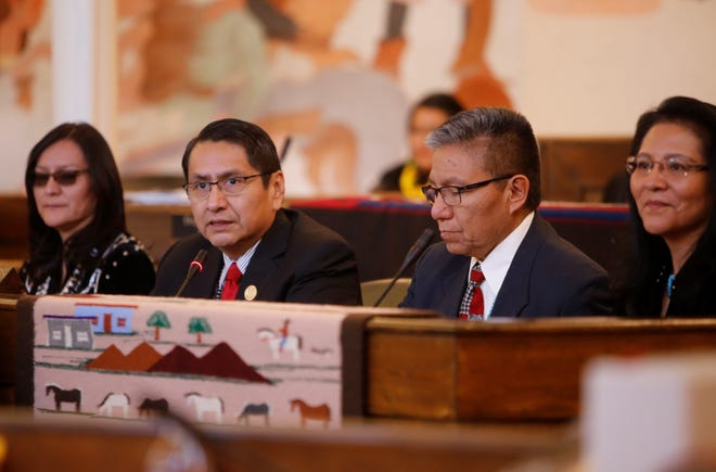 Navajo Nation President Jonathan Nez and Vice President Myron Lizer will attend the State of the Union address on Tuesday night in Washington, D.C.