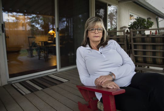 Joanna Jurgens reflects on her son Jeffrey, who has struggled with mental illness and is now living at Atascadero State Hospital after stealing a car. Photo by Randy Pench for CALmatters