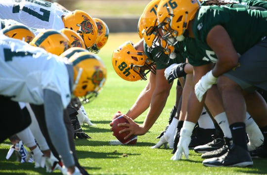 Arizona Hotshots long snapper Nicholas Dooley (48) during practice on Feb. 5 at State Farm Stadium.