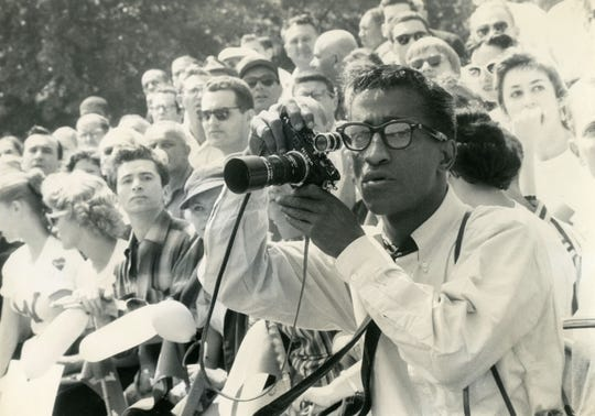"""Entertainer Sammy Davis Jr. also was known for his love of photography. His life is the subject of PBS' """"Sammy Davis, Jr.: I've Gotta Be Me."""""""