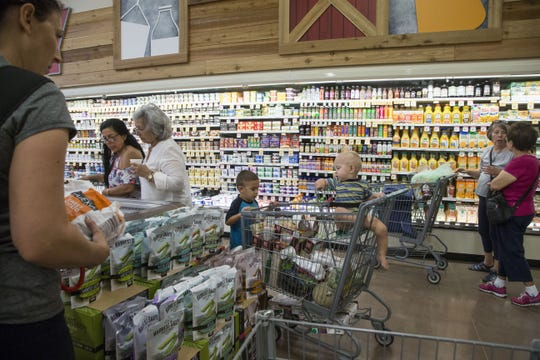 Food tax rates across the state vary from 1.5 to 4 percent, meaning shoppers pay $1.50 to $4 in taxes for every $100 of groceries, according to state Department of Revenue data.