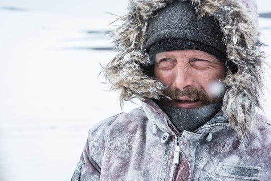 """Mads Mikkelsen plays Overgård in """"Arctic."""""""