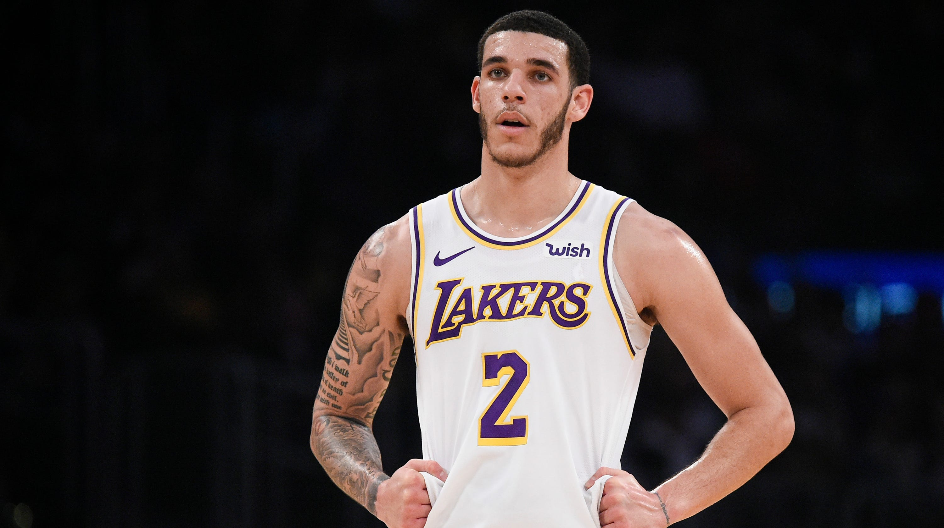 167ee94dcbf8 Lonzo Ball trade  Los Angeles Lakers point guard fit with Phoenix Suns