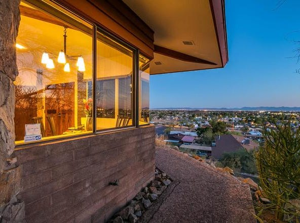This Sunnyslope home with its stunning views is the pride and joy of owners Thomasina and William Burke.