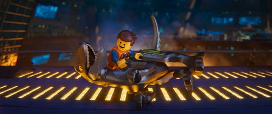 "Emmet goes for a ride in ""The Lego Movie 2: The Second Part."""