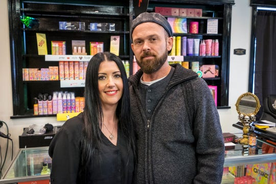 Shelly and Johnny LaRose have opened Chateau LaRose, a salon in Marysville that caters to both men and women. The salon is located at 825 Michigan Ave., Suite #3 in Marysville.