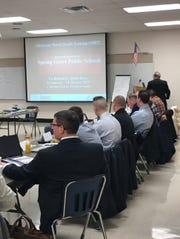 Spring Grove Area Middle School hosted an adolescent mental health training for regional school resource officers on Friday, Feb. 1.