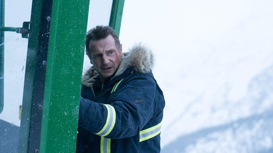 "Liam Neeson stars in ""Cold Pursuit."" The movie opens Thursday, Feb. 7, at Regal West Manchester Stadium 13 and Frank Theatres Queensgate Stadium 13."