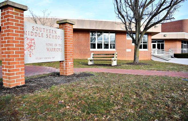 Southern Middle School in Glen Rock, Tuesday, Feb. 5, 2019. Dawn J. Sagert photo