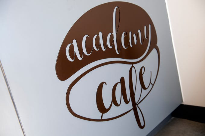 The Academy Cafe logo was designed by York Academy Regional Charter School 9th-grader Lilian McNally, and the cafe will feature artwork from other students. The coffee shop will be open to the public and be a way for students to get experience in the workforce. Its opening is set for March.