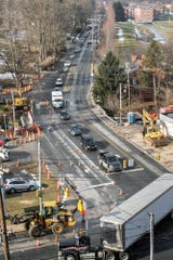 What's next for the Rathton, County Club Road, South George Street intersection plagued with traffic congestion and bumps.