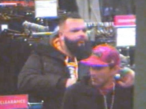 Two men wanted in connection with a Boscov's robbery/retail theft in Springettsbury Township.