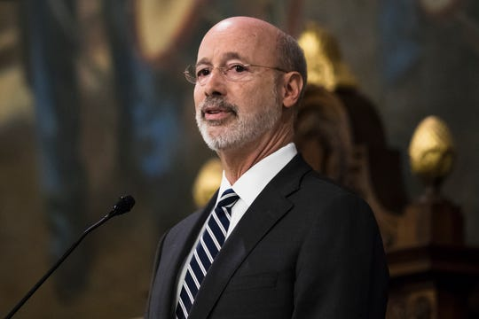 Gov. Tom Wolf said he supports legalizing recreational marijuana for adults in Pennsylvania.