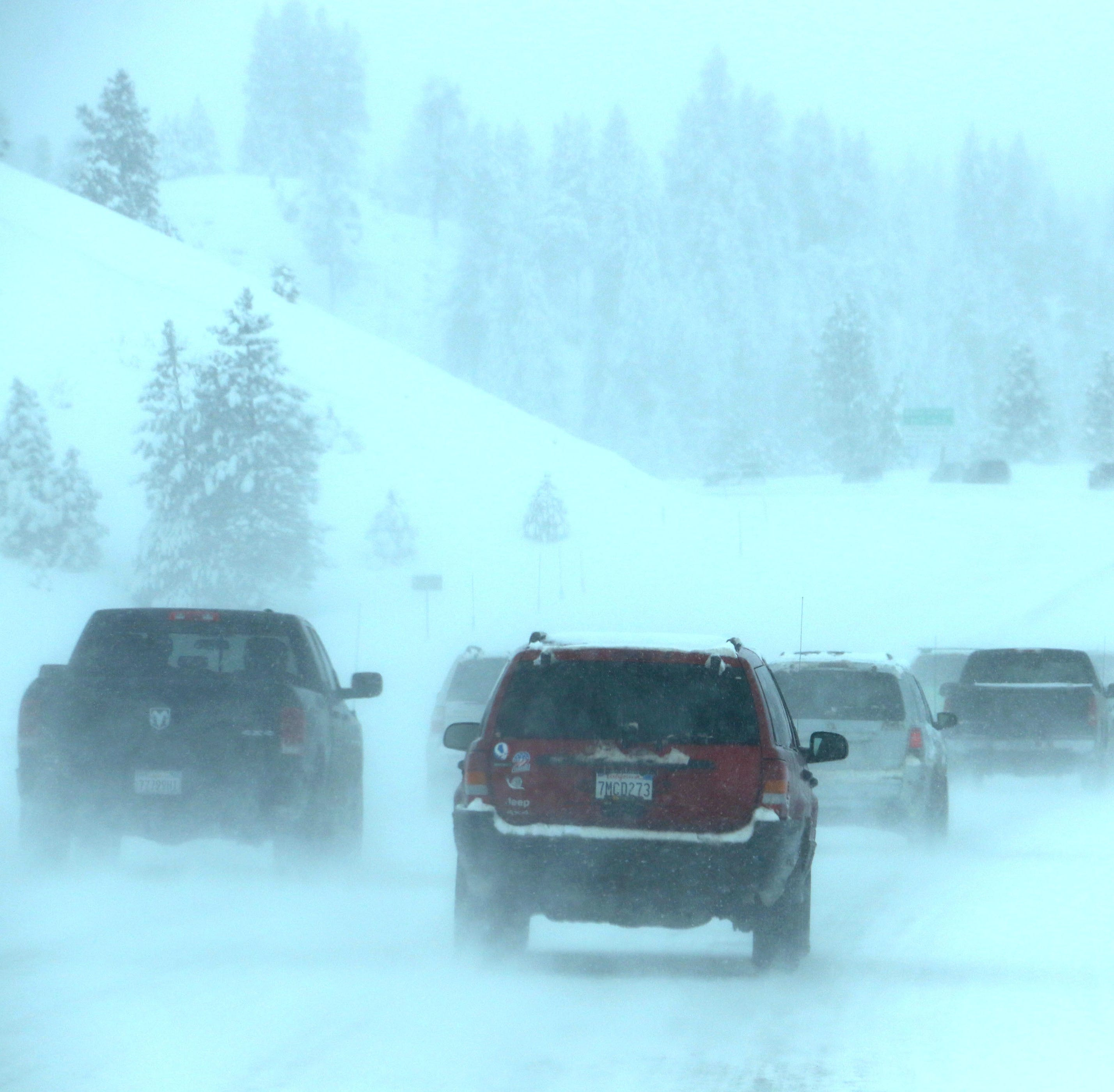 NWS: Winter storm warning issued, 1-2 feet of snow above 7,000 feet expected