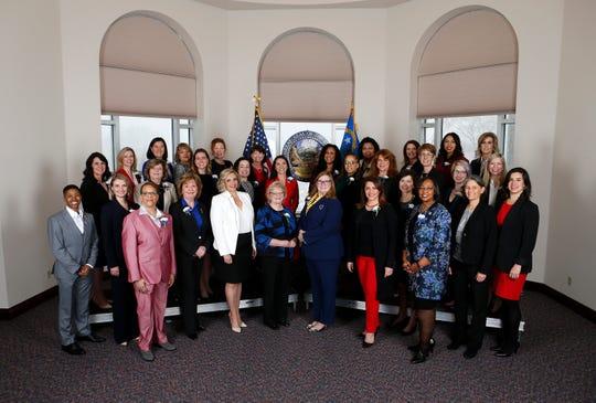 Nevada's Legislature, where Democrats and women are in the majority, saw a progressive agenda fare well this session.