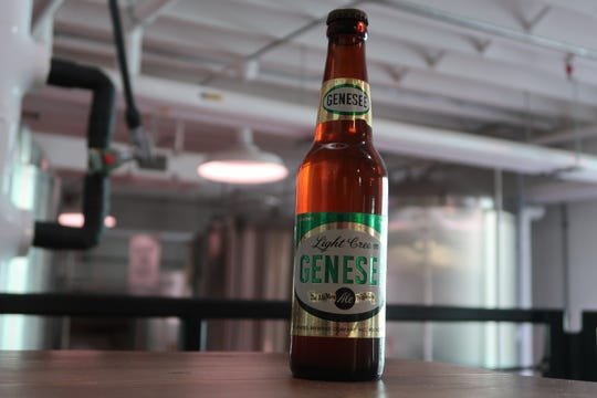 Genesee Light Cream Ale from the early 1950s. This predates the introduction of Cream Ale in 1960.