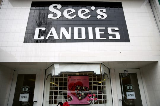See's Candies in downtown Salem on Tuesday, Feb. 5, 2019.