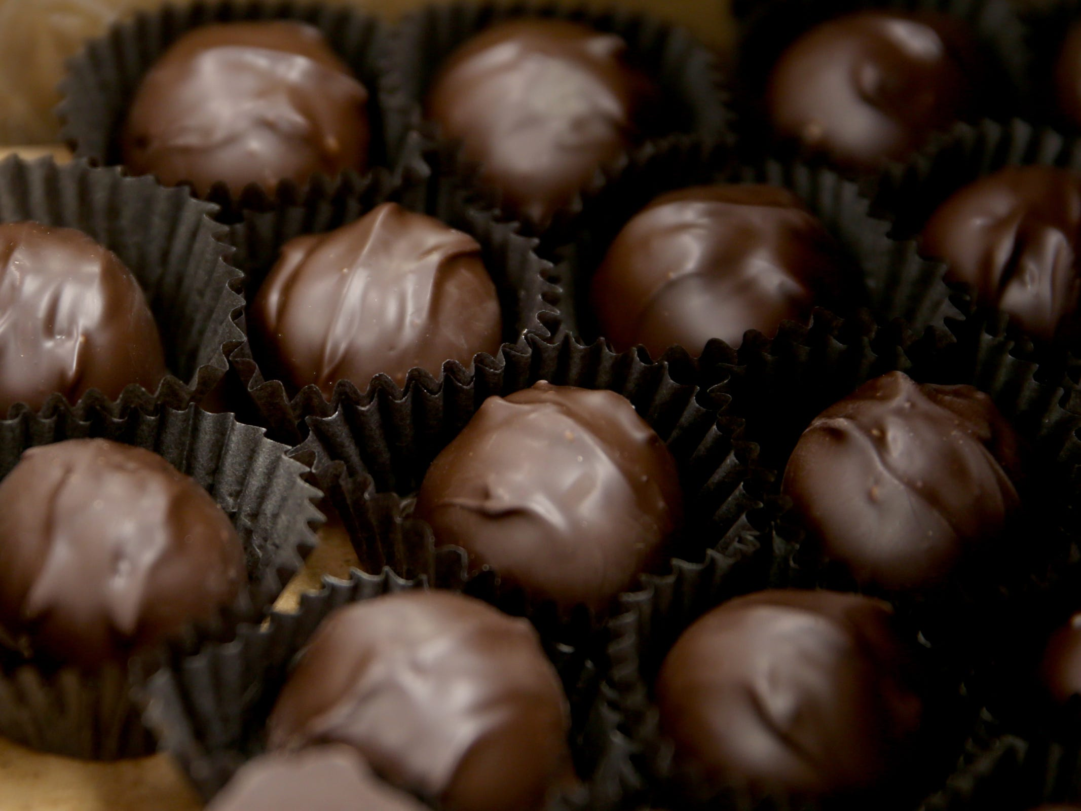 Chocolate candies available at See's Candies in downtown Salem on Tuesday, Feb. 5, 2019.