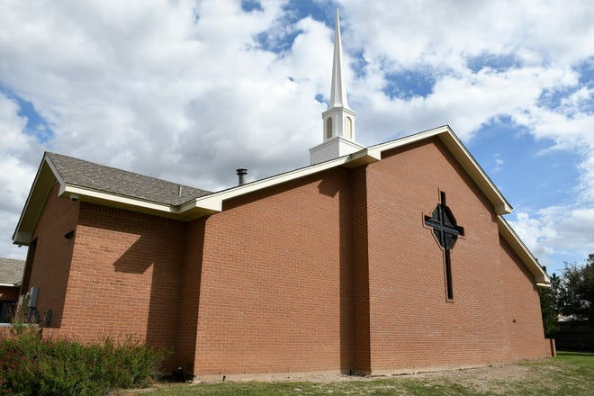Belmore Baptist Church, 1214 S. Bell St., began as mission church of First Baptist Church of San Angelo in 1951. The church serves the Belaire and Glenmore neighborhoods near Goodfellow AFB.