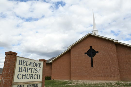 The Belmore Baptist Worship Center at 1214 S. Bell St. was constructed in 1991.
