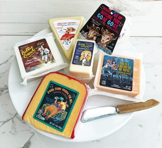 The Aldi Happy Farms Preferred '80s Smash Hits Cheese Assortment. Courtesy of Aldi.