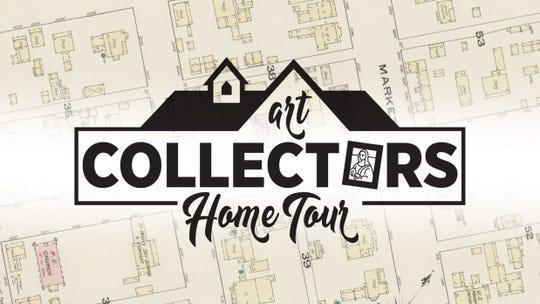 Art collectors home tour