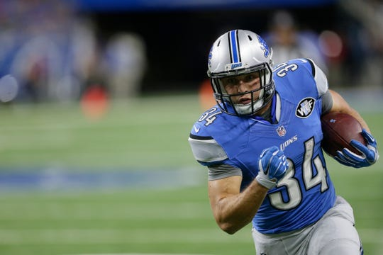 Former South Dakota State running back Zach Zenner, now playing for the Detroit Lions, capped off the 2018 season with the best game of his NFL career.