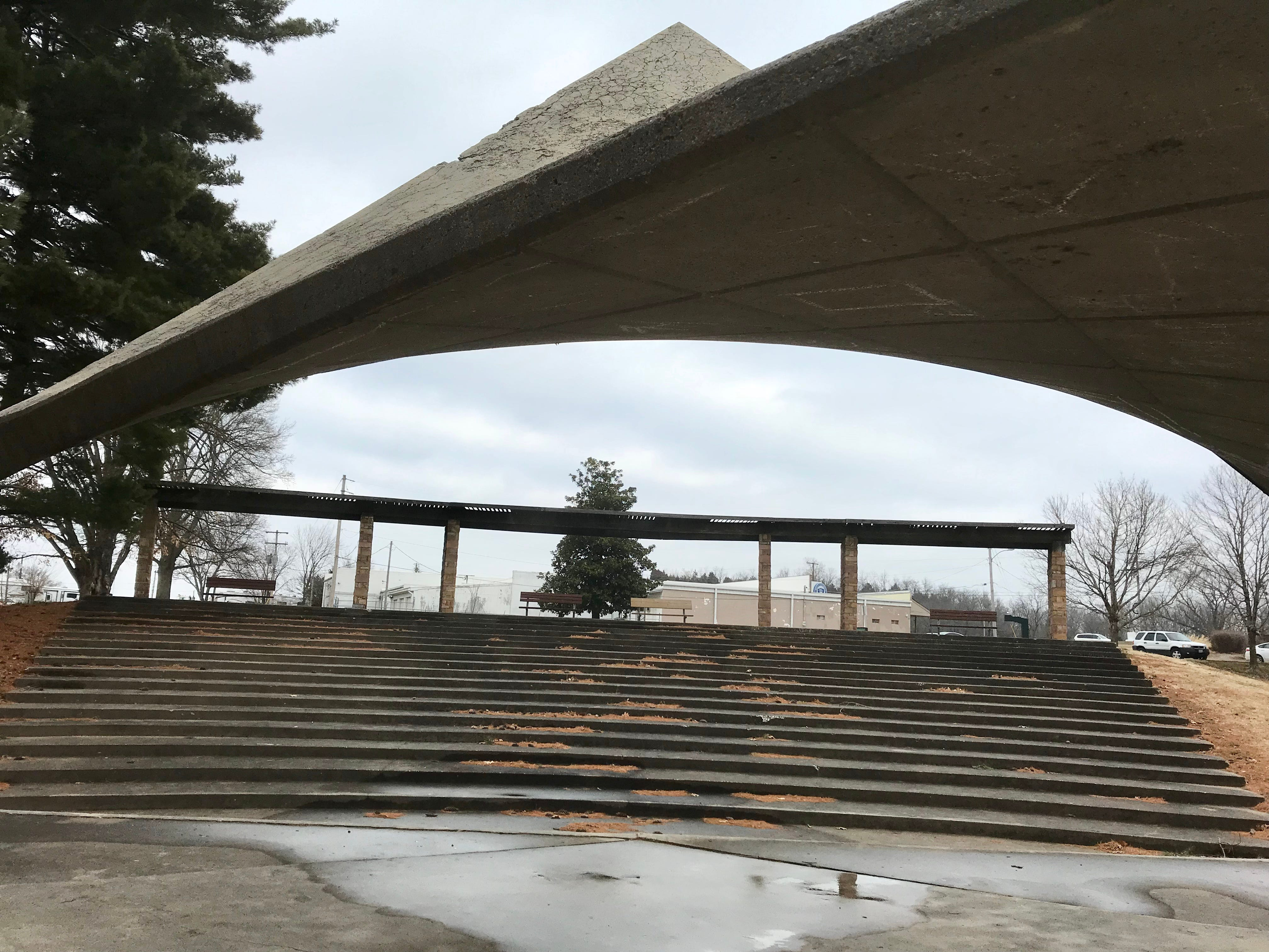 Living Memorial Park covers 10 acres and is at 4323 S. Nature Center Way.  It has a amphitheater as well as a pavillion.