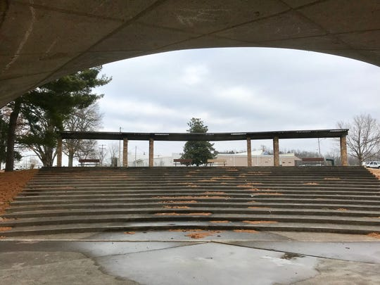 Living Memorial Park covers 10 acres and is at 4323 S. Nature Center Way.  It has an amphitheater as well as a pavilion.