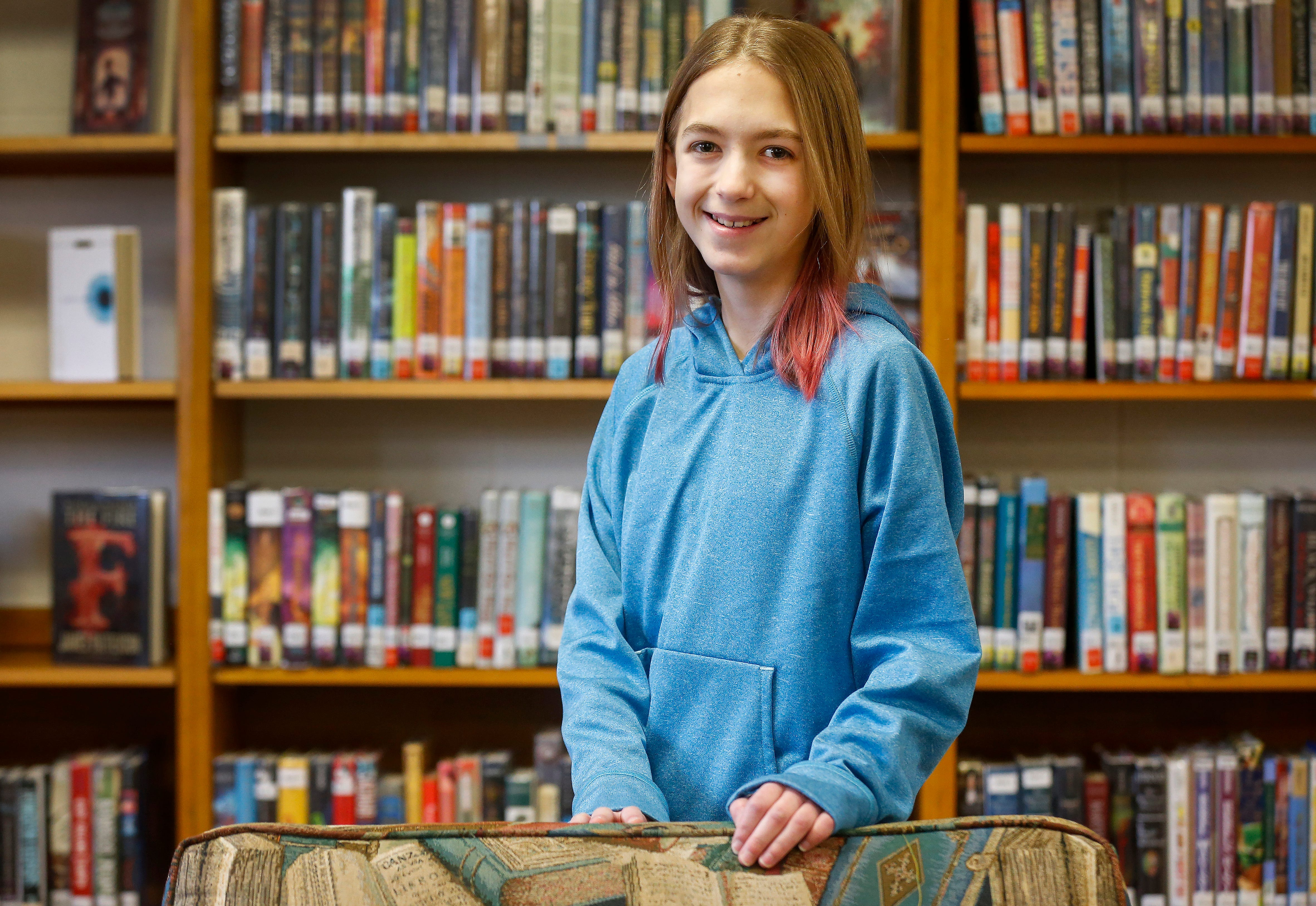 Aria Thomas, a student at Pleasant View Middle School, wrote a short essay that won her a trip to visit Warner Brothers Studio in Los Angeles in the fall.