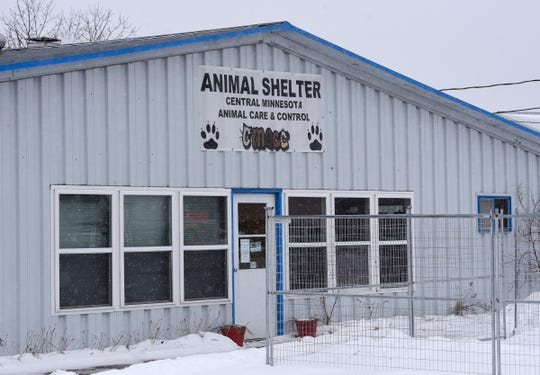 The Central Minnesota Animal Care and Control shelter is pictured Tuesday, Feb. 5, in St. Cloud.