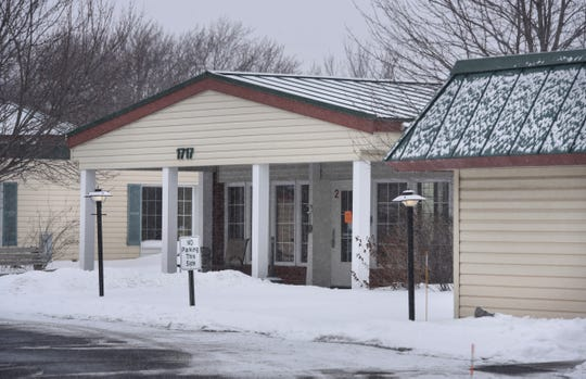 The Talahi Nursing and Rehab Center is pictured Tuesday, Feb. 5, in St. Cloud.