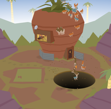 Donut County: Holes, raccoons and fun with gravity