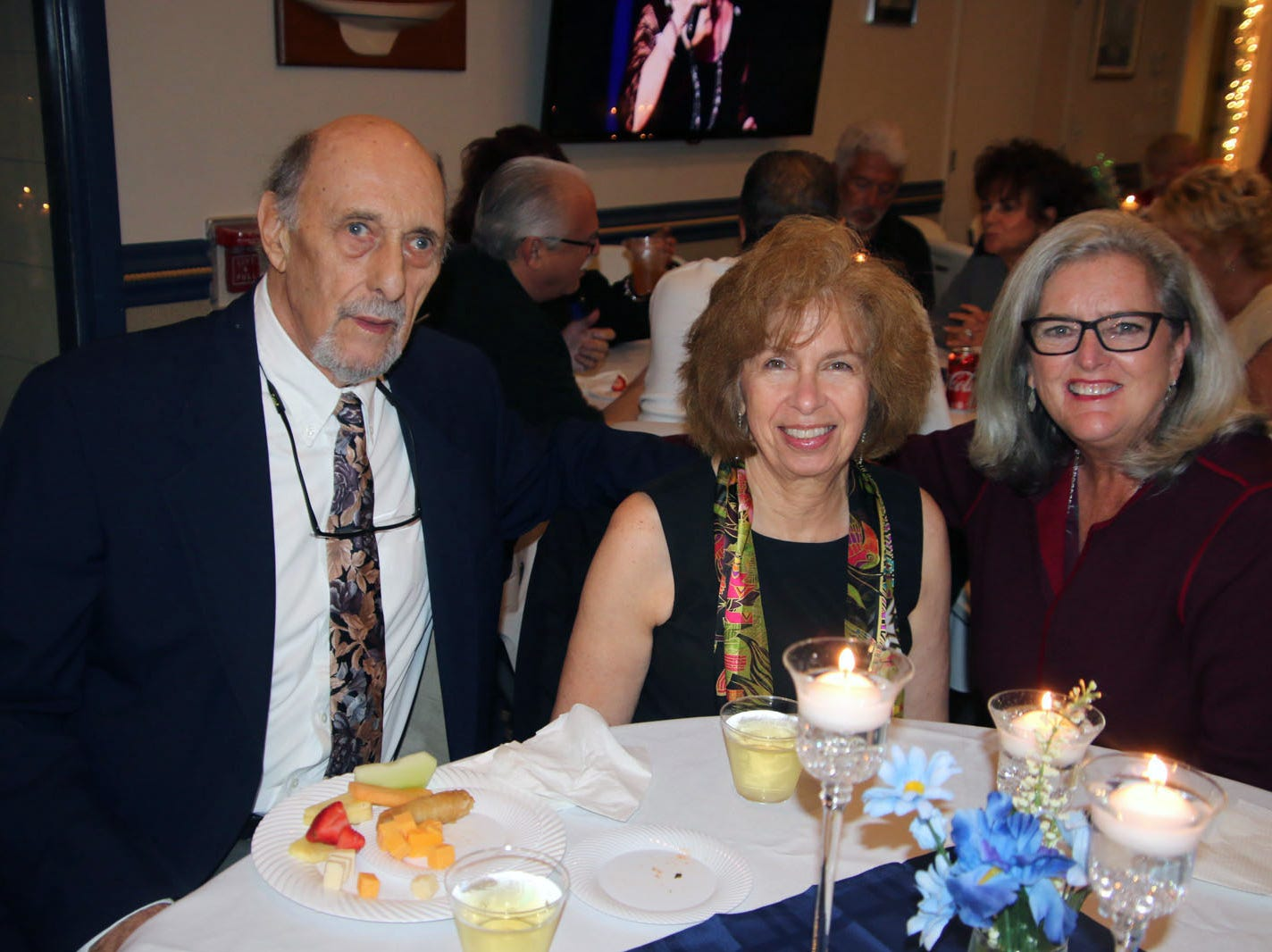 Michael and Janet DiNapoli and Katherine Briggs at the Dollars for Scholars fundraiser at the Fort Pierce Yacht Club on Jan. 27.