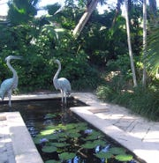 """One of the secret gardens in Martin County to be featured on the 2019 """"Garden Breezes"""" tour onMarch 23-24, presented by the Garden Club of Stuart."""
