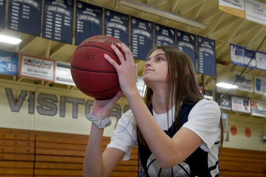 Gabriela Jaquez, the younger sister of boys star Jaime Jr., has averaged 14.9 points and 9.6 rebounds in her freshman season at Camarillo. The girls basketball team went 24-4 in the regular season and won its eighth straight league title.