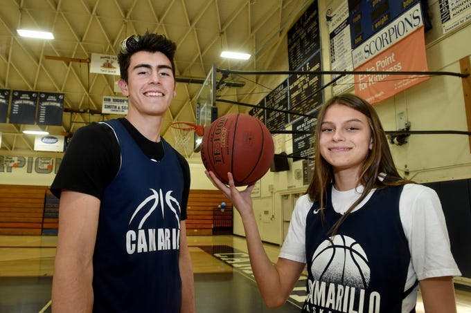 UCLA-bound Jaime Jaquez Jr. and his freshman sister Gabriela have been big reasons why the Camarillo High basketball programs went a combined 48-7 during the regular season, including 20-0 in the Coastal Canyon League. Their teams start CIF playoffs this week.