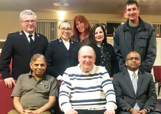 Members of the Vineland Salvation Army's Turkey Drive Committee were recently honored for their successful Thanksgiving turkey collection, which resulted in 1,400 families receiving turkeys for Thanksgiving.