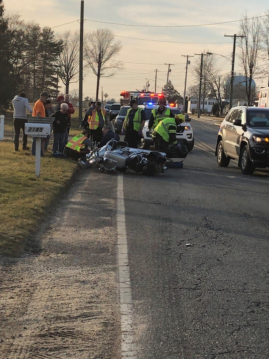 One person was reported injured during a collision Tuesday on East Oak Road in Vineland.  Feb. 5, 2019