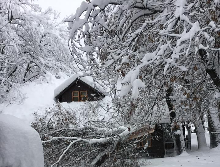 Heavy snow closes roads to Yosemite, Sequoia and Kings Canyon remains open